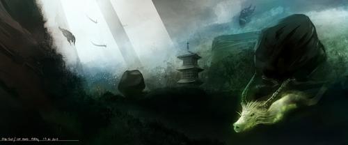 Mystic land of spirits by ghevan