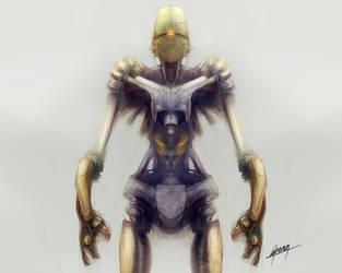 Robot creativity 3 by ghevan