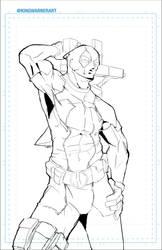 11152015-Deadpool by kingwarnerart