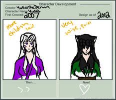 Character Development: Yuka by FauxH0und