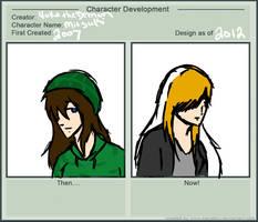Character Development: Mitsuki by FauxH0und