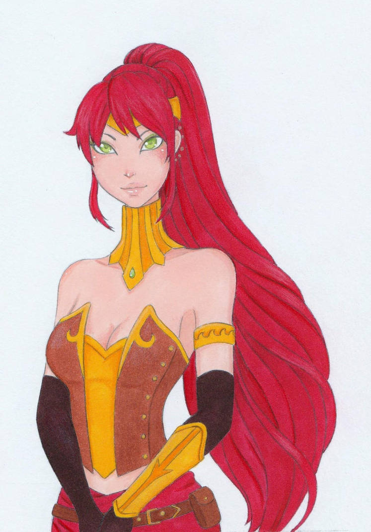 Pyrrha Nikos by AliceScarlettBlack