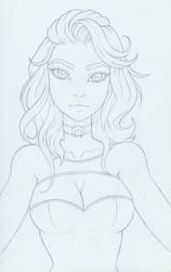 ID #2.5 Sketch - Lilith by AliceScarlettBlack