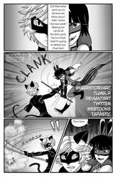 LadyButterfly Page Four (chapter4) by MariStoryArt