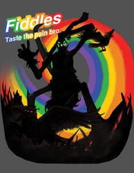 Fiddles ... Taste the pain bro. by Xavisavvy