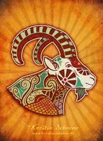 zodiac sign - capricorn by KerstinS