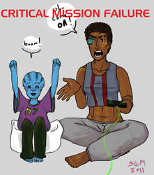 ME: Critical Mission Failure by wbrooks