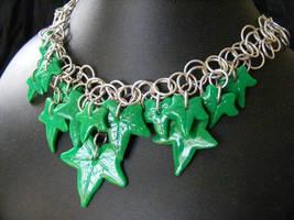 Ivy Leaf shiny by BacktoEarthCreations