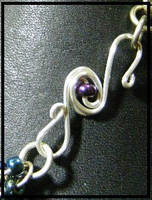 Wire wrapped clasp tutorial by BacktoEarthCreations