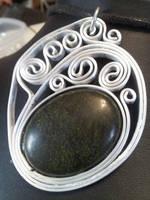 Embryo Pendant by BacktoEarthCreations