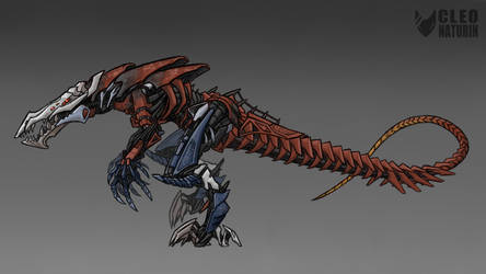 Bionicle Week 2 Art Challenge - Zyglak by Kanoro-Studio