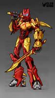 Tahu 2015 Bionicle by Kanoro-Studio