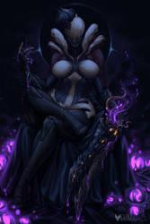 Poison Queen Saryn Taking a Break by Kanoro-Studio