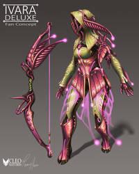 Ivara Deluxe Skin Fan Concept by Kanoro-Studio