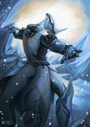 Warframe - Frozen Guardian Frost by Kanoro-Studio