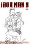 Iron man 3 poster by rafa lee by TheRafaLee