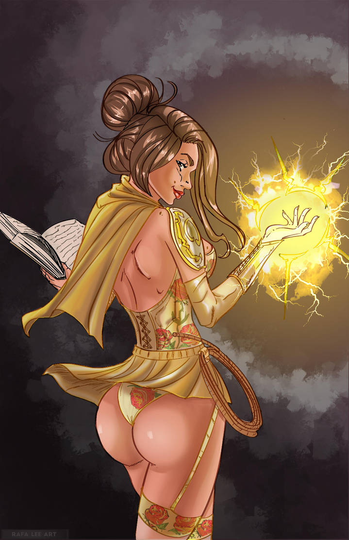 Belle - J Scott Campbell Style Commission by TheRafaLee