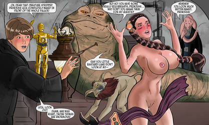 Slave Leia ENF - Commission by TheRafaLee