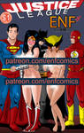 JLA ENF Comics vol 2 Cover preview by TheRafaLee
