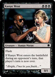 Kanye West by MOON-E