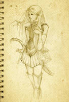 Elf by Hitsuki23