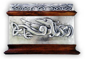 CELTIC CHEST 1 - FRONT. by arteymetal