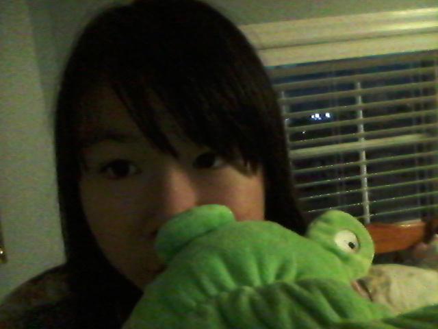 derpy girl with alligator  by hanabi-ko