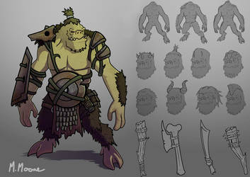 Oni Concept by Moemoore