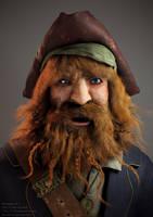 Pirate Captian - Blending Life by BertieRoostr