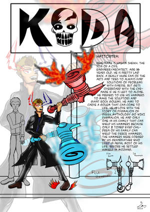 KODA BOYZ: Hattortra(The Hammer) by kalabadi-hallaj