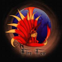 Nine-Tailed Fire Fox by evolz01