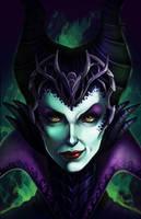 Maleficent by DigiAvalon