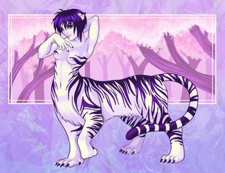 The White Tigress by DigiAvalon