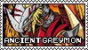 Ancientgreymon Digimon Stamp by Captain-Chompers