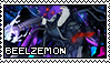 Beelzemon Digmon Stamp by Captain-Chompers