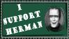 Herman Stamp by alienhunny