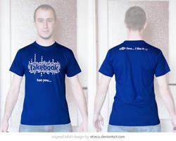FB has you T-shirt by StrixCZ