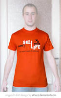 Don't Sell Your Life T-shirt by StrixCZ