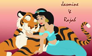Jasmine and Rajah by Dandorcha