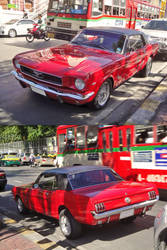 Red Mustang by zynos958