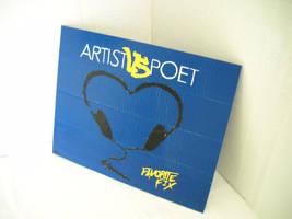 Artist Vs. Poet Painting by futureprodigy24