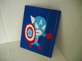 Tokidoki Captain America by futureprodigy24
