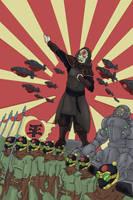 amon propaganda poster by gorrin