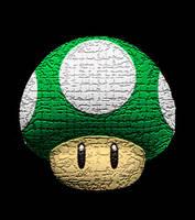 1 Up Mushroom by 2barquack