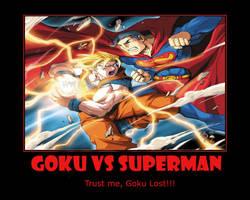 Goku Vs Superman by 2barquack