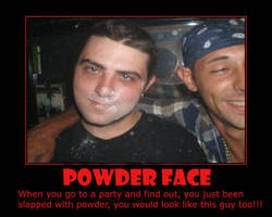 Ben Powder Face by 2barquack