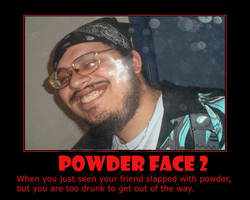 Powder Face 2 by 2barquack