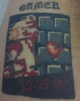 My Custom Mario Tattoo by 2barquack