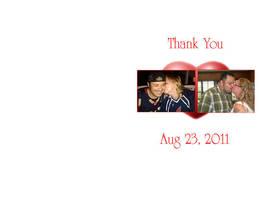 Thank you Wedding Card by 2barquack