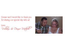 Thank you Wedding Card 2 by 2barquack